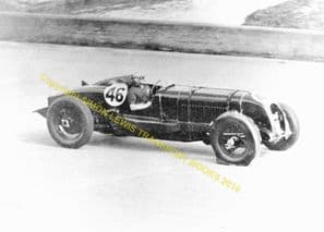Bentley Birkin Blower At Speed Brooklands C.1932. Photo (c)