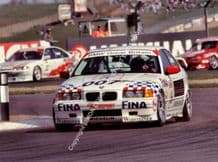BMW 320 Johnny Cecotto Donington BTCC April 1995.  photo