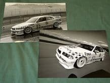 "BMW 320 Supertouring DTC ""Warsteiner"" 2 - 10x7"" Original BMW  period PR photos"