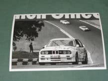 "BMW M3 BTCC MOBIL Sugden/Burt Brands 1990  7x5"" photo(b)"