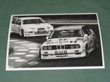 "BMW M3 BTCC MOBIL Sugden/Burt Brands 1990  7x5"" photo(c)"