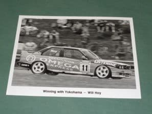 BMW M3 Will Hoy BTCC 1991 8x6 Press Photo