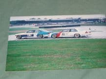 BMW M3s  GROUILLARD & WINKLEHOCK Silverstone RAC TT (WTC) 1987 period photo