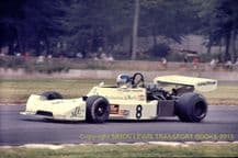 Boxer PR276 Hart F2. Danny Sullivan Shellsport Gp8 Donington 1977. action photo