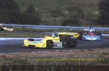 Boxer RP276 (Brian Henton) & Penske (Magee) Oulton Park Shellsport 5000 Sept 1976 action photo