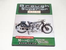 Brough Superior from 1923 (Allen 1990)