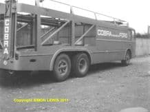 COBRA team transporter at AC works 1965. Amateur photo (a)