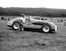 Connaught A Type. Mike Hawthorn at speed 1952 Turnberry