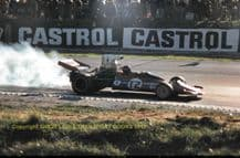 """Connew-Chevrolet F5000 Tony Trimmer 1973 Brands Hatch 10x7"""" photo"""