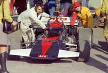 CONNEW F1 in paddock 1972 Brands Hatch Victory Race