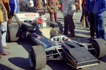 Connew F1 in paddock 1972 Brands Hatch Victory Race (b)