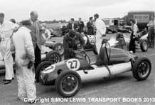 Cooper 500cc F3 Stuart Lewis-Evans Silverstone 1952 British GP meeting with his father