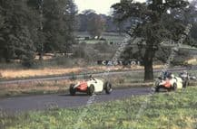 Cooper Halford & H Taylor Yeoman Credit cars  Oulton Park Gold Cup 1960
