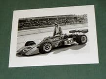 "COYOTE -FORD. George Snider 1974 Indy 500 original periuod 4x4"" photo"