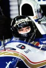 Damon Hill. Williams-Renault FW16 Silverstone Pits 1995
