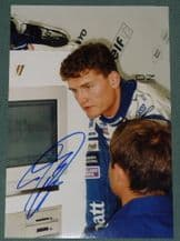 David Coulthard on 1994 portrait photo