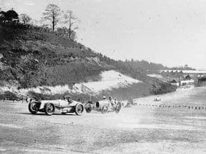 Delage 15 S 8  Malcolm Campbell 1928 Brooklands Junior GP(with Rivers-Fletcher) & Bugatti (Eyston)