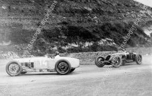 Delage 15 S 8 Senechal/Wagner and Talbot 700  A Divo.  RAC Grand Prix, Brooklands 1926