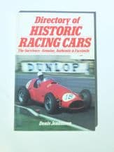 "Directory of Historic Racing Cars  (Jenkinson 1987)Signed by ""Jenks"""