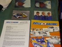 DOYLE RACING R&S OLDS IMSA Press Kit 1996. Wayne Taylor