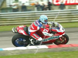 Ducati 999 Superbike. Leon Haslam. Thruxton 2006. photo