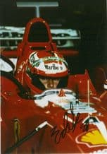 Eddie Irvine - cockpit photo - Ferrari