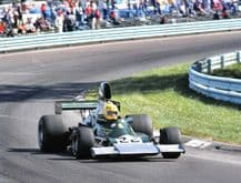 ENSIGN MN02 F1 Mike Wilds US GP 1974 action photo