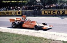 ENSIGN MN02 F1 Vern Schuppan British GP 1974 action photo