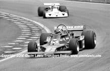 ENSIGN MN180 F1 Photo. Jan Lammers, 1980 Dutch GP Zandvoort