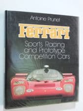 Ferrari, Sports Racing and Prototype Competition Cars (Prunet 1983)