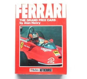 FERRARI THE GRAND PRIX CARS (Henry  1st Ed 1984)