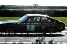 Ford Capri (Chris Craft). photo.   Silverstone RAC Saloons (BTCC) 6 June 77 (finished 4th)