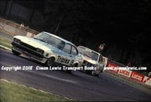 Ford Capri (Colin Vandervall) BMW (Walkinshaw) Donington RAC Saloons (BTCC) 8 July 1977