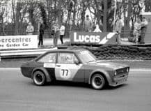 "Ford Escort Mk2 Thundersaloon Blackburn/Wilson  Brands Hatch 1987 7x5"" photo"