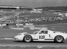 FORD GT40 Alan Rees photo. 1966 Brands .Essex Wire