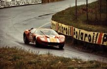Ford GT40 Le Mans 1966 test weekend #16