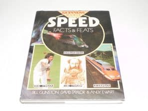 GUINNESS BOOK OF SPEED FACTS AND FEATS. (Gunston, Taylor, Ewart 1984)
