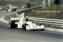 HESKETH 308 James Hunt  at Speed Canadian GP 1974