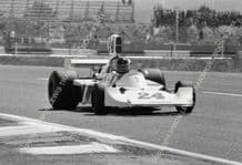 HESKETH 308B James Hunt French GP photo 1975