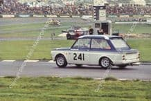 HILLMAN IMP Nick Britten in Frazer entered car, Brands Hatch BTCC August 1966