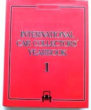 International Car Collectors' Yearbook 1. (1985-86)