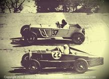 Invicta (Field/Ettinger)  MG K3 (005 E R Hall) photos at Brooklands 1933 BRDC 500