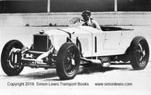 Invicta. Photo Looks like Raymond Mays. Brooklands early 1930's