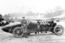 Isotta-Maybach Aero engined race car.Le Champion. late 20s Brooklands. Photo