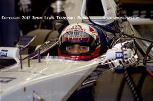 Juan-Pablo Montoya Williams-Renault FW23 Silverstone Pits 2001. Photo A
