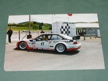 "BMW M3 IMSA GTS3 Derek Hill.J Quiros Lime Rock paddock. 6x4"" photo"
