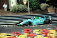 Leyton House March 90B photo  Paul Warwick.  1990 Birmingham Superprix F3000 (d)