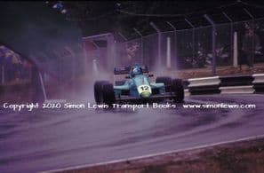Leyton House March 90B photo  Paul Warwick.  1990 Brands Hatch F3000 (d)