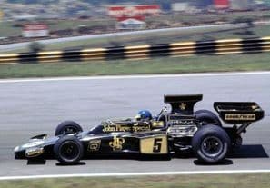 LOTUS 72 Ronnie Peterson Brazil GP 1975