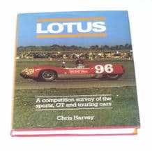 Lotus. A Competition Survey of the Sports, GT and Touring Cars (Harvey 1980)